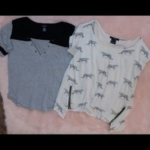 Forever 21 rue 21 shirt Bundle